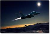 Night Of The Eagle  Aviation Art