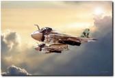 Impending Intrusion Aviation Art
