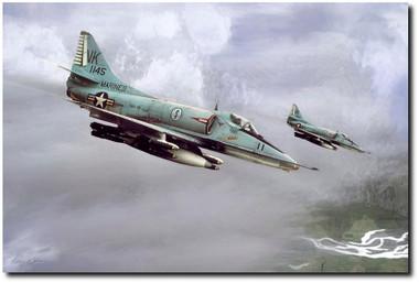 Chu Lai Skyhawks Aviation Art