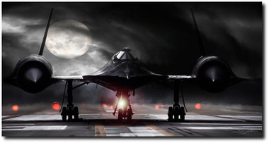 Night Moves Aviation Art