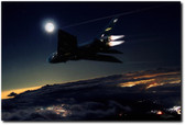 Back In Black Aviation Art