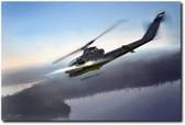 Cobra Attack Aviation Art