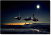 Midnight Rider Aviation Art