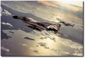 Inbound Wolf Pack  Aviation Art