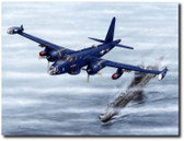Loaded For Bear by Don Feight - Lockheed P2V Neptune Aviation Art