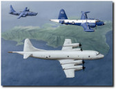 Patrol Squadron Nine by  Don Feight - VP-9 Squadron Aviation Art