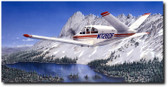 Bonanza by  Don Feight - V-Tail Bonanza Aviation Art