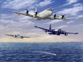 The Hunters by  Don Feight - Ventura, Neptune & Orion  Aviation Art