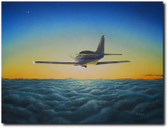 Definitely VFR by Don Feight - Glasair Aviation Art
