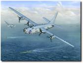 Navy Lib by Don Feight - B-24 Liberator Aviation Art