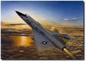 Delta Dawn by Don Feight - F-106 Delta Dart  Aviation Art
