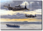 Closing the Gap by Don Feight - WW II TBM Avenger Aviation Art