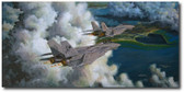 Cats and the Lumber Queen by Bryan David Snuffer - F-14 Tomcat Aviation Art
