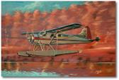 Fwickaseein Wabbit Season by Bryan David Snuffer -  De Havilland Beaver MK II  Aviation Art
