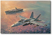 Hornet's Pass by Bryan David Snuffer Aviation Art