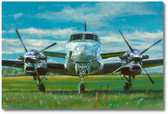 King Air by Bryan David Snuffer Aviation Art