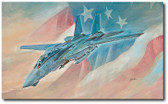 Last Time Baby! by Bryan David Snuffer - Grumman F-14 Tomcat Aviation Art