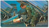 Learning to Fly by Bryan David Snuffer - T-38 Talon  Aviation Art