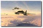 Stormbirds Over the Reich by Robert Taylor Aviation Art