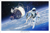America's First Space Walk by Mark Karvon-  Gemini IV and Ed White