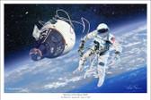 America's First Space Walk by Mark Karvon-  Gemini IV and Ed White