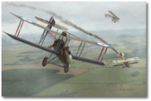 DH-2 - Oliver vs. Kirmaier by Jim Laurier - Albatros D.I - Aviation Art