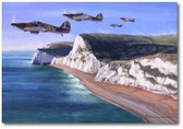 The Lion's Claws by Jim Laurier - Hawker Hart - Aviation Art
