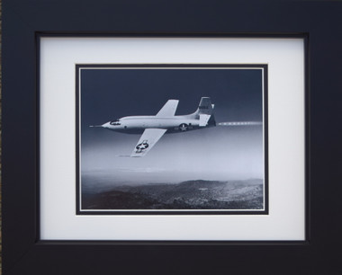 Bell X-1 in flight with Chuck Yeager Aviation Art