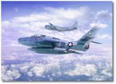 Cold War Sentinels by Mark Karvon - Republic F-84F Thunderstreak