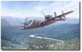 Mohawk Mission by Mark Karvon- Grumman OV-1 Mohawk Aviation Art