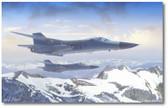When Pigs Fly by Mark Karvon - General Dynamics F-111 Aardvark Aviation Art