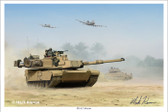 M1A2 Abrams by Mark Karvon