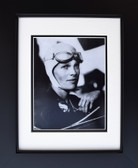 Amelia Earhart with Goggles Aviation Art