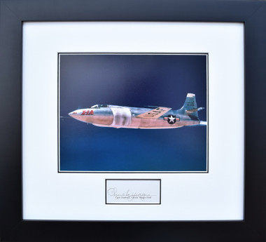 Bell X-1A with Chuck Yeager - (Signed) Aviation Art