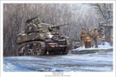 """Armored Recon"" - M5A1 Stuart by Mark Karvon"