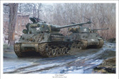 """Easy Eights"" M4A3E8 Sherman by Mark Karvon"
