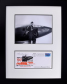 Glamorous Glennis with Chuck Yeager and First Day Envelope Aviation Art