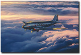 Fifty Years a Lady by Craig Kodera - Douglas DC-3  Aviation Art