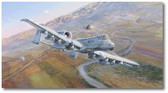Retribution by Rick Herter - Warthog  Aviation Art