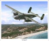 Briefing Time by Mark Karvon - North American B-25 Mitchell