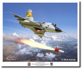 F-106 Delta Dart 27th FIS  Aviation Art