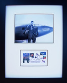 Chuck Yeager with Signed First Day Envelope ( 60th Anniversary of the Air Force Service)