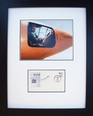 Chuck Yeager with Autographed First Day Envelope ( VE Day )  Aviation Art