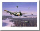 Winter Wulf  Aviation Art