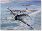 Okawa's Prize  Aviation Art