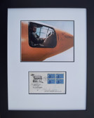 Chuck Yeager with 50th Anniversary of the Air Force Envelope Aviation Art