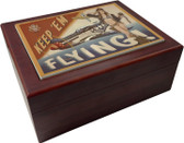 Keep 'Em Flying - P-51 Mustang Humidor