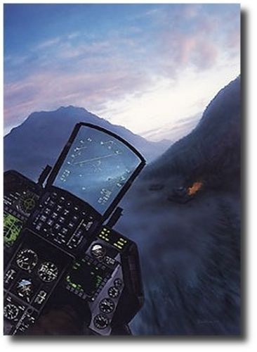 Falcon Sunrise  by Dru Blair  - F-16 Fighting Falcon Aviation Art