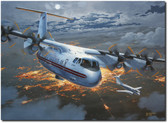 Night Movers By Tom Freeman - Dash 7 and Beechcraft C 12