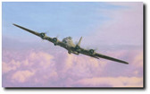 Lady of Grace by Micky Harris - B-17 Flying Fortress Aviation Art
